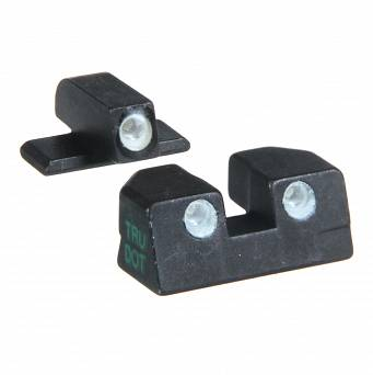 Meprolight ML-10110g Fixed Self Illuminated Night Sights for Sig Sauer P Series (9mm i .357)