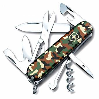 Victorinox Climber Pocket Knife, 91mm Camouflage