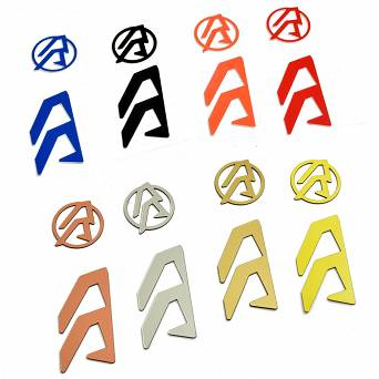 Stickers for holsters Alpha-X RH - Orange , Alpha-X RH Color Inlays - Orange