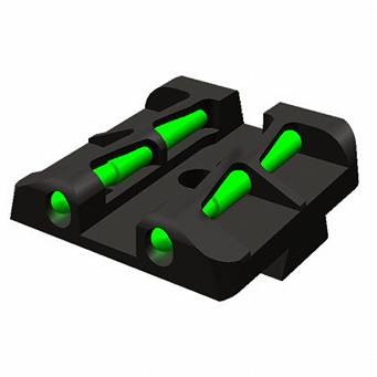 Hi-Viz XDLW11 fiber optic rear sight - for Sprinfield, XDM, XD
