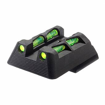 Hi-Viz HKLW11 fiber optic rear sight - for H&K HK45, VP9