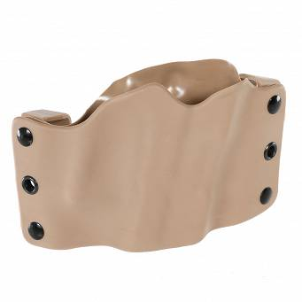 Universal Compact Stealth Operator Holster - Coyote, OWB, RH - Phalanx H60068