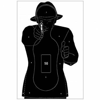Target practice TS-10 French 10pcs