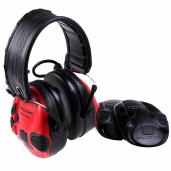 3M - Peltor SportTac Active Hearing Protector - Red