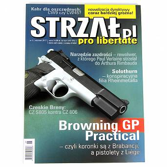 Strzał.pl - No. 01/2017 - a specialized magazine about weapons