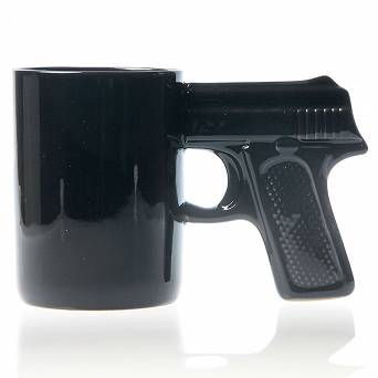 Gun Mug black - 375ml