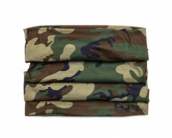 Face Veil by 5.11, Model : Halo Neck Gaiter, Color : Woodland Camo