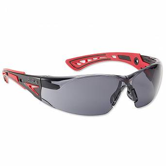 Bolle Safety RUSH + Smoke glasses - protective - RUSHPPSF